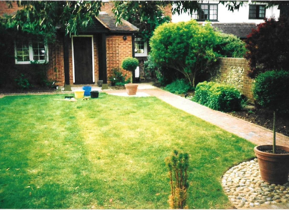 Stone Pathway laid by Apex Property Services