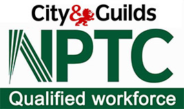 NPTC logo means we employ qualified personel for our garden trree and patio services